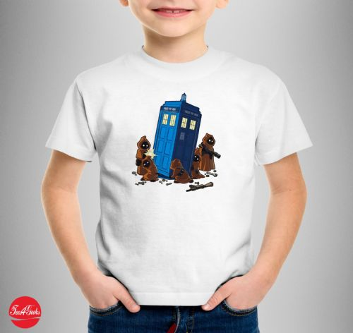 The Tardis Star Wars T-shirt